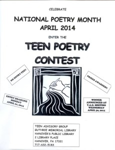 Teen Poetry Contest 2014-pic